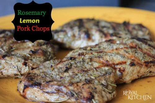 Rosemary Lemon Pork Chops Recipe {Keto Friendly/Low Carb}