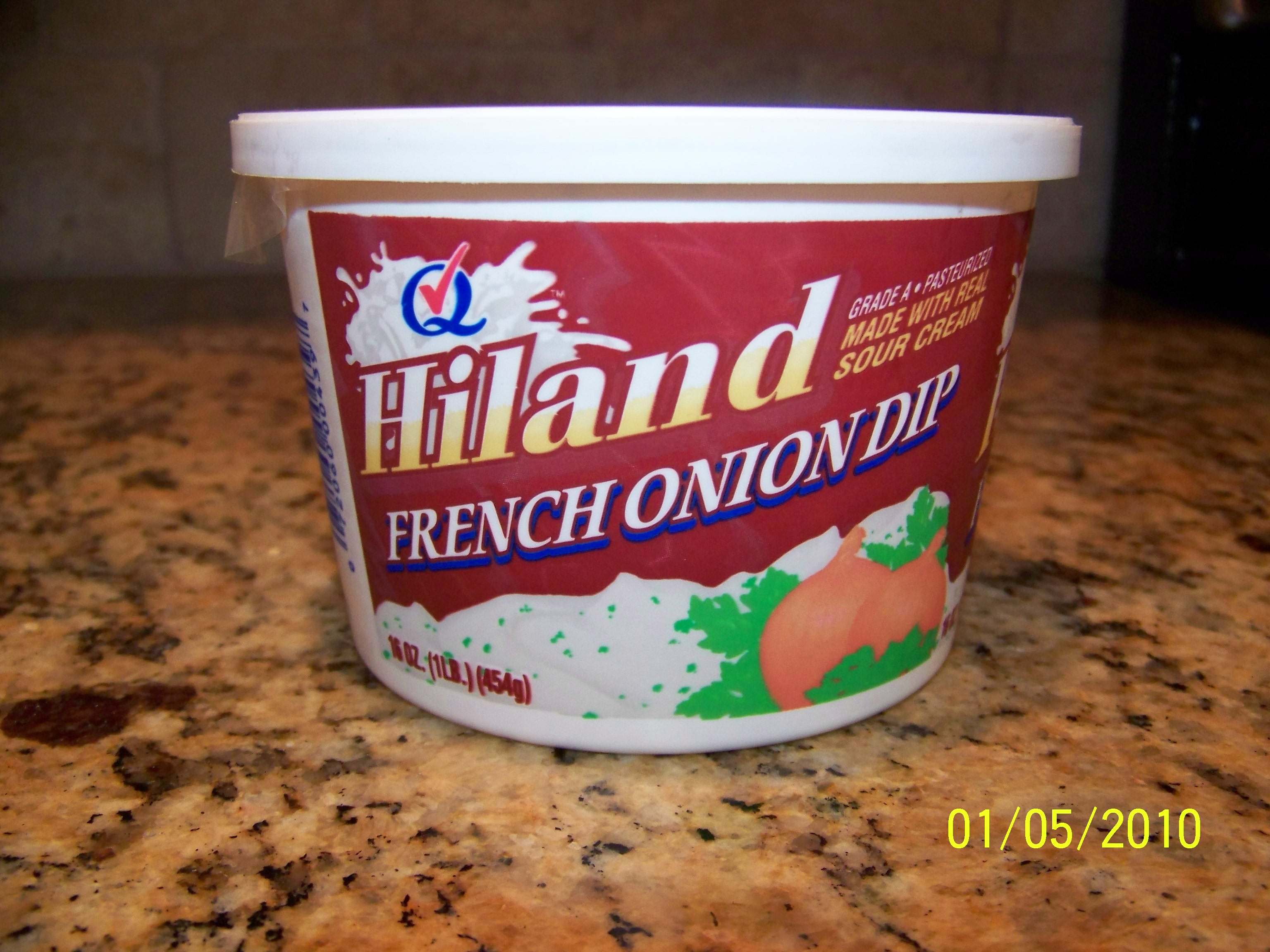 Hiland French Onion Dip $.32 At Crest
