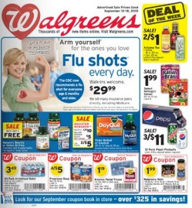 Walgreens Week of 9-12