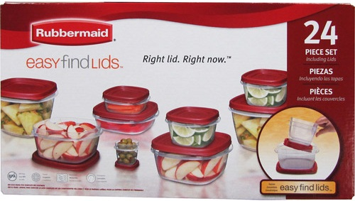 @Rubbermaid 24-Piece Food Storage Set Only $10!