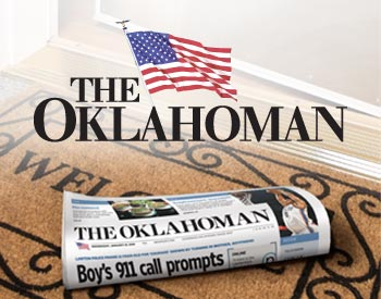 Every Oklahoman staff-originated article published in The Oklahoman is available online; the Print Replica contains all. There is some material from the printed version that does not appear online: display advertising; some photos, graphics and tabular data; syndicated comics and columns that The Oklahoman does not have permission to reproduce electronically.