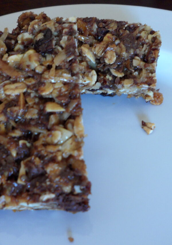 Oh So Chewy Granola Bars