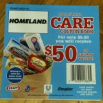 Queen Mum will be at Homeland 122nd & May with CARE coupon booklets!