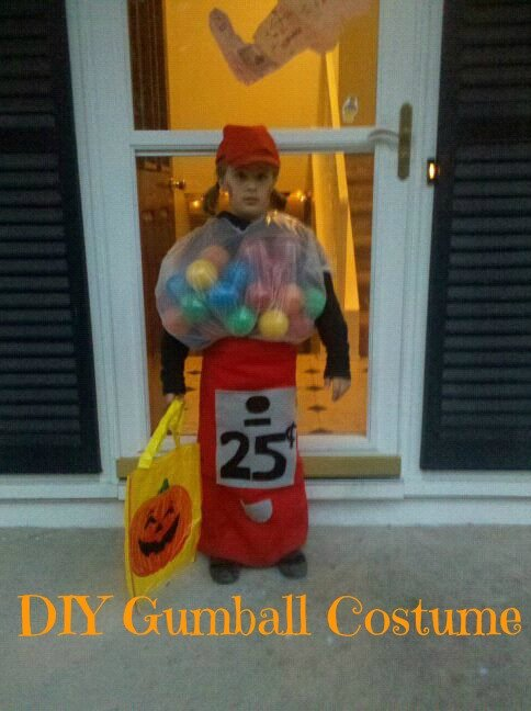 DIY: Gumball Machine Costume