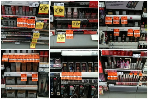 1a30b053748 Walgreens cosmetics clearance: Cheap Revlon, Maybelline, & Rimmel ...