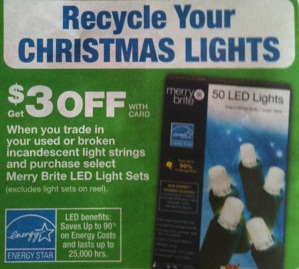 Cvs Recycle Old Christmas Lights And Get 3 00 Off New