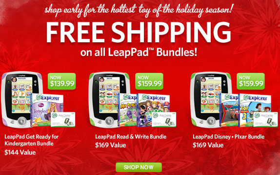 CQ Santa: LeapPad Get Ready for Kindergarten Bundle **DEAD DEAL**