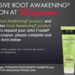 BOGO free John Frieda Root Awakening Walgreens coupon!