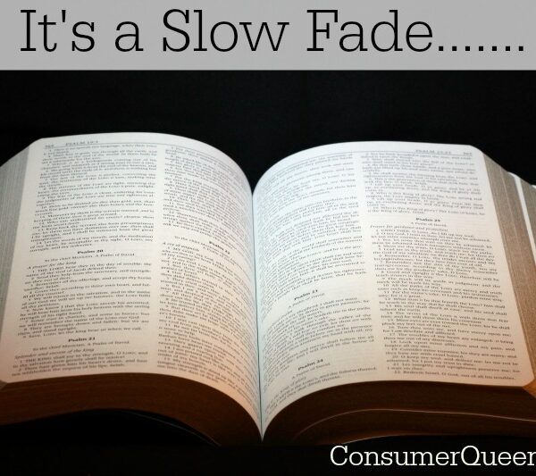 It's a Slow Fade