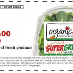 *HOT* $2.00/1 ANY Organic Girl Product – FREE at Target/Walmart!
