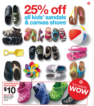 Target: Children's Shoes Up To 75% Off