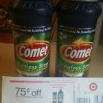 Have You Gotten Your 7¢ Comet Stainless Steel Cleaner at Target?