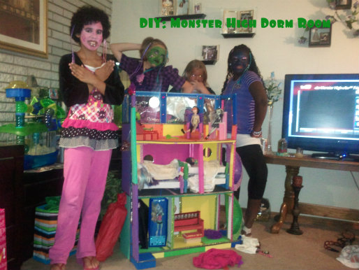DIY Monster High Dorm House