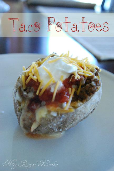 Taco Potatoes!