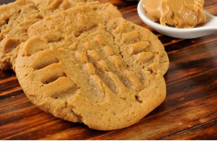 Peanut Butter Cookies close up