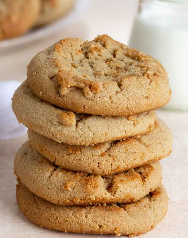 The Easiest Peanut Butter Cookies EVER!