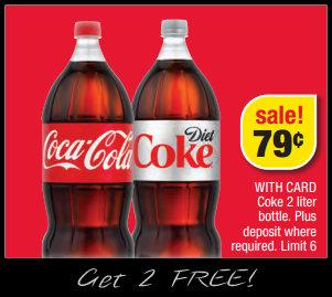 Coke coupons 2 liter