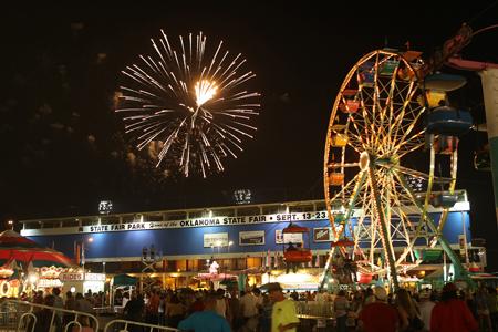 OK State Fest fireworks