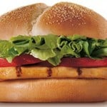 Burger King: 2 Chicken Sandwiches & 2 Fries for Only $4.99