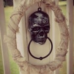 Make your own Halloween Wreath for Just a Couple Bucks!
