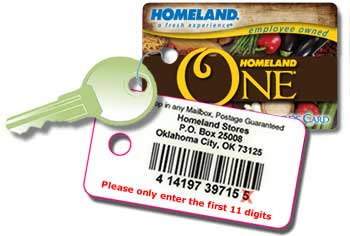 homeland card keychain Metro Homeland (and Country Mart) Sneak Peek for 9/26