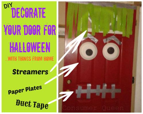 DIY Halloween DOor