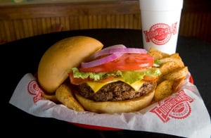 photo relating to Fuddruckers Coupons Printable identified as Fuddruckers - $1.99 Children Supper with Grownup Entree