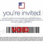 Possible $10 off $10+ purchase if you subscribed to JCPenny Emails
