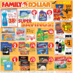 Great Family Dollar Deals Starting 10/28!