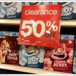 Target: Franken Berry, Count Chocula & Boo Berry Cereals 50% off (1.33 ea.)