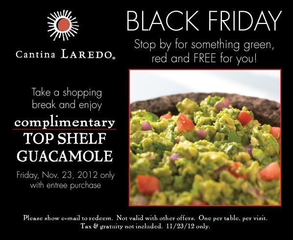 Cantina laredo discount coupons