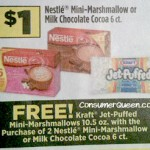 Dollar General: Nestle's Cocoa, Jet-Puffed Marshmallows .67 ea. 11/25