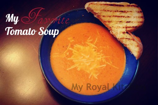 My Favorite Tomato Soup. It's easy, creamy and delicious!
