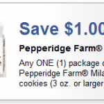 High Value 1.00/1 Pepperidge Farm Milano Cookies