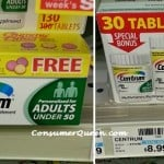 CVS: Great Deal On Centrum Vitamins!