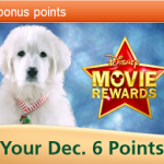 Today's Disney Movie Rewards For 5 More Points