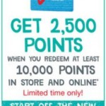 Walgreens: 2500 Bonus Points When You Redeem 10,000 Thru 12/29