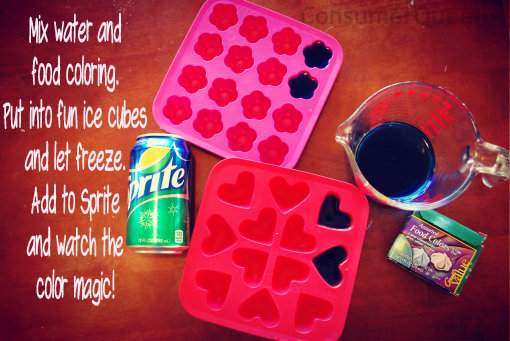 New Years Eve Fun for Kids! Make colorful Ice Cubes!