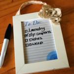 DIY Gift Idea: Make a reusable To Do List