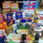 From Our Readers….Amber's Homeland Haul!