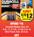 CVS: Nice Deal on Duracell Batteries Starting 12/26