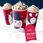 Starbucks BOGO Holiday Drinks Starts Today!