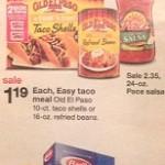Target: Old El Paso, Ragu & Barilla Gift Card Deal