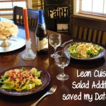 Lean Cuisine Salad Additions saved my date night! #BYOS #Cbias