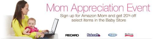Amazon Mom Savings Event