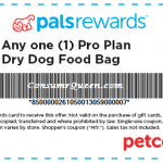 PETCO PalsRewards: 5.00 off Any Pro Plan Dog Food & FREE Can