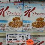 Crest Foods: Special K Cereal 98¢ + FREE Shape Subscription