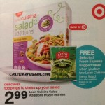 Target: Salad & Lean Cuisine Salad Editions as Low as 66¢