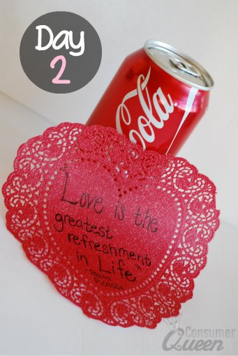 Valentines Coke Idea
