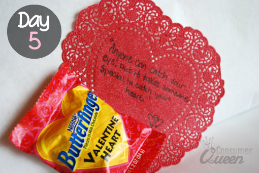 Valentines Heart Candy Idea